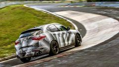 Alfa Romeo Stelvio Quadrifoglio: record al Nurburgring - Immagine: 8