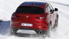 Alfa Romeo Stelvio: vista  posteriore