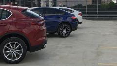 Alfa Romeo Stelvio vs Mercedes GLC Coupé vs BMW X4  - Immagine: 1