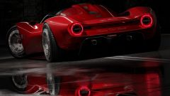Nuova Alfa Tipo 33 Periscopica, anche tu la disegneresti così? - Immagine: 2