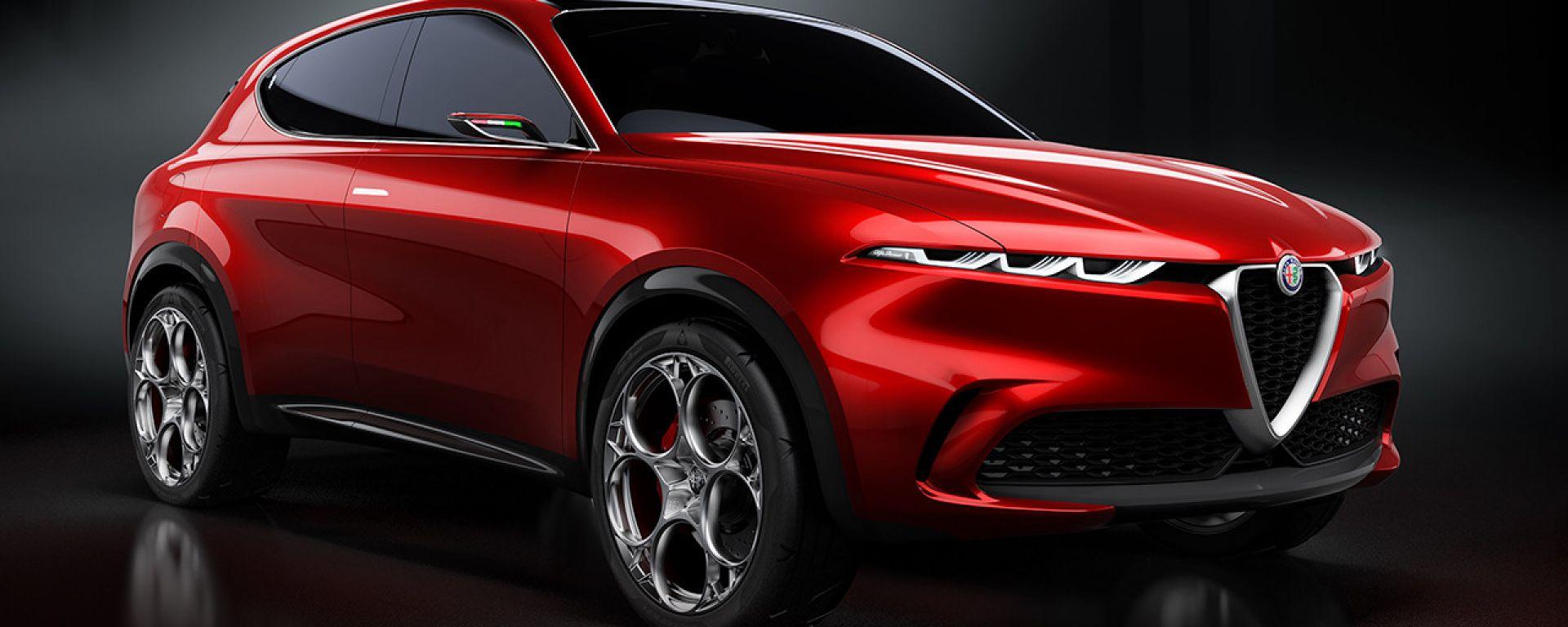 Alfa Romeo Tonale, in anteprima al Salone del Mobile 2019