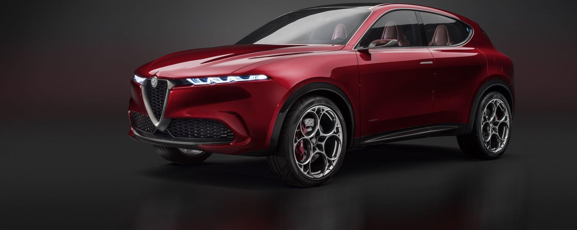 Alfa Romeo Tonale: in arrivo con motore ibrido
