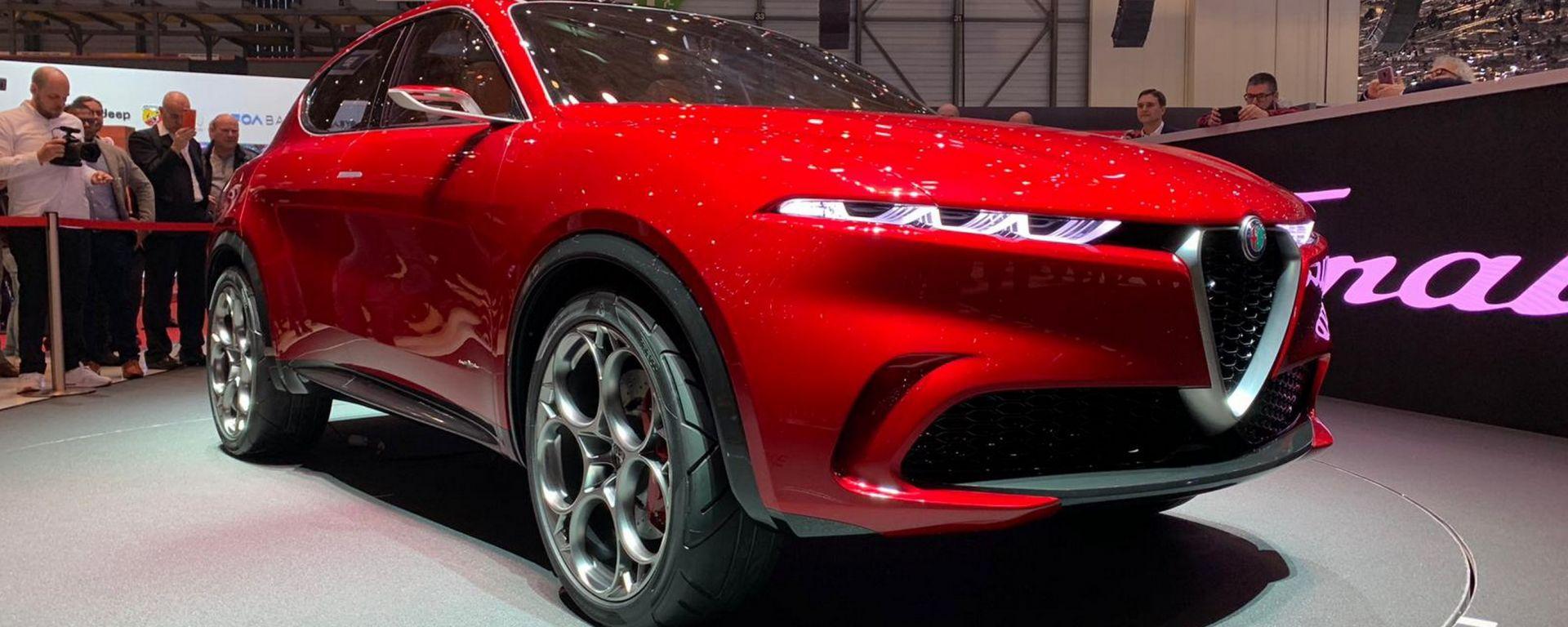 Alfa Romeo Tonale, live da Ginevra 2019