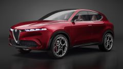 Alfa Romeo Tonale: vista laterale