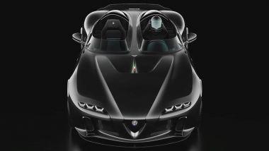 Alfa Romeo USD Barchetta, il frontale