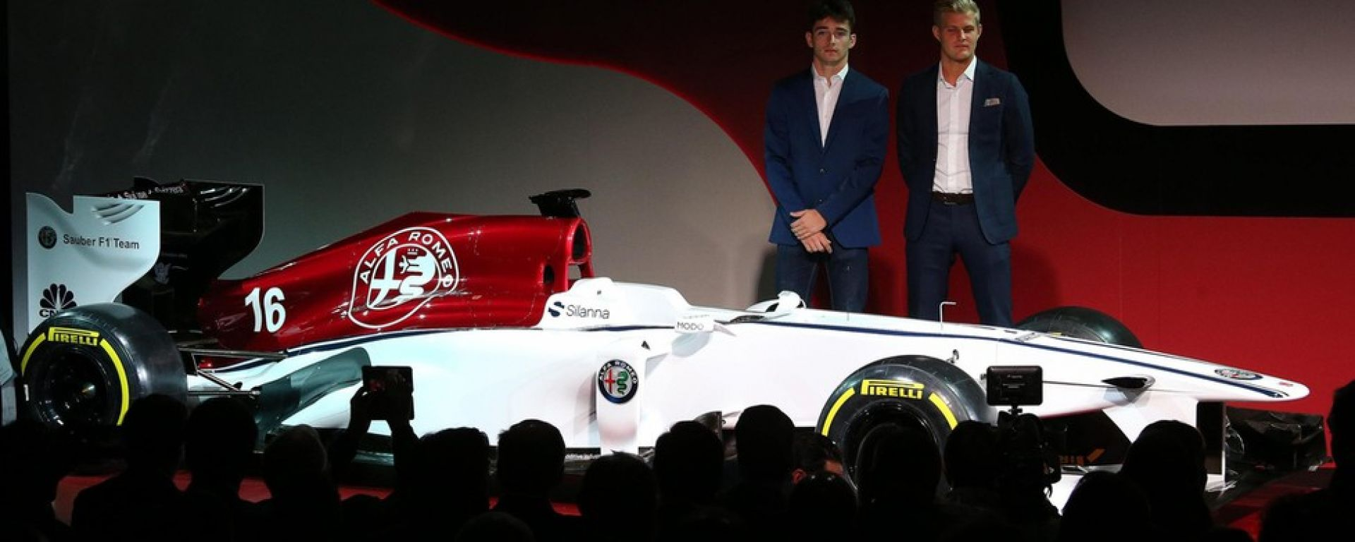 presentazione alfa romeo sauber f1 team racing orari dove vederla motorbox. Black Bedroom Furniture Sets. Home Design Ideas