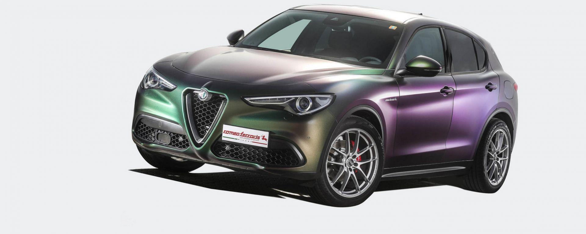 Alfa Romeo Stelvio Romeo Ferraris: più potente e performante