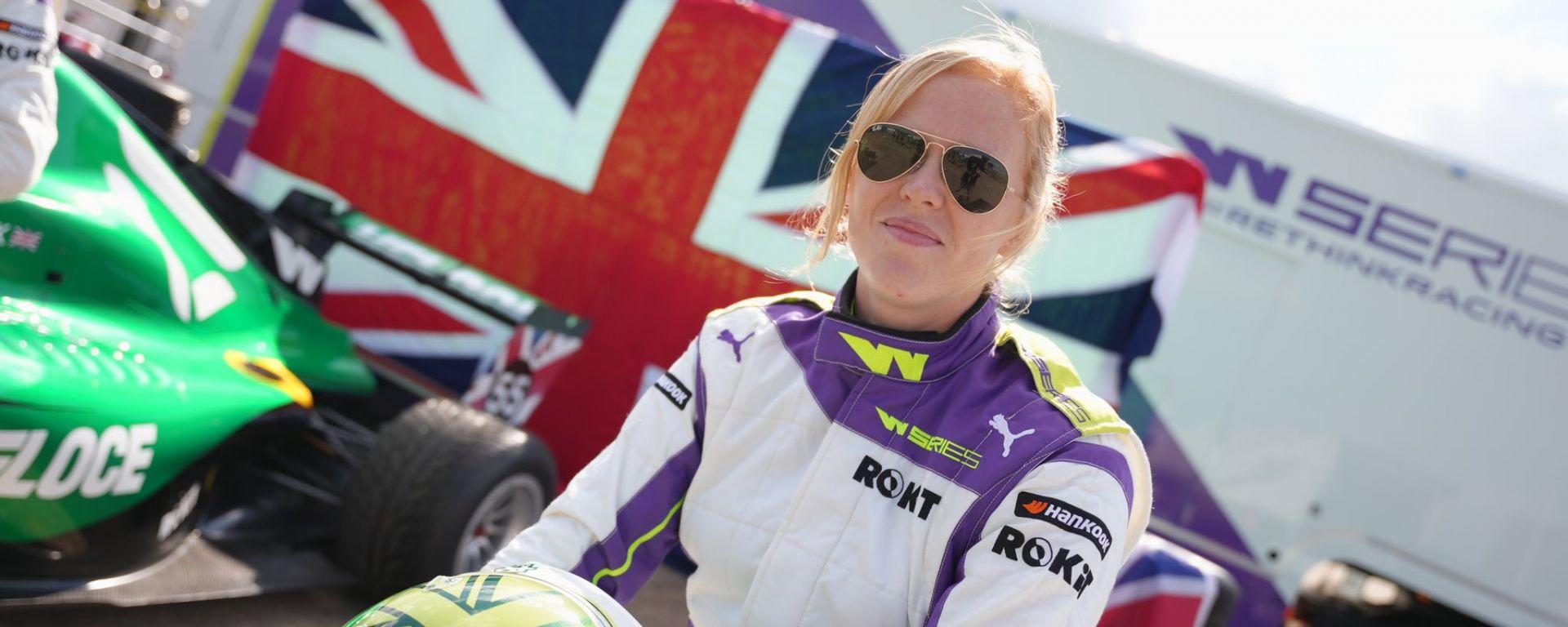 Alice Powell batte la Wohlwend ed è in pole a Silverstone