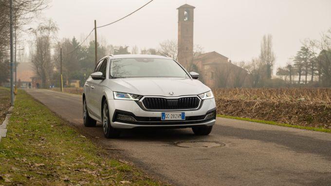 Alla giuda della Skoda Octavia iV Wagon plug-in hybrid
