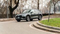 Alla guida della Audi Q5 40 TDI quattro S tronic S line plus 2021