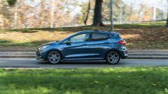 Alla guida della Ford Fiesta 1.0 Ecoboost Hybrid 125 CV ST-Line