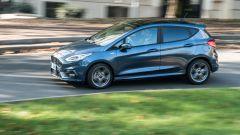 Alla guida della Ford Fiesta Hybrid 1.0