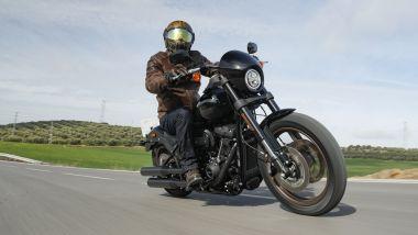 Alla guida della Harley-Davidson Low Rider S