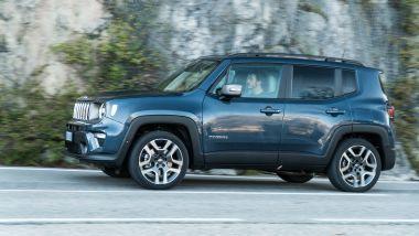 Alla guida della Jeep Renegade 4xe Limited plug-in hybrid