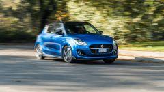 Alla guida della Suzuki Swift 1.2 Hybrid Top