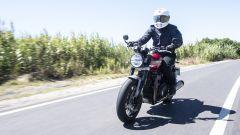 Alla guida della Triumph Speed Twin 2021