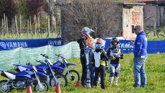 Alla Junior Moto School possono partecipare bimbi dai 4 anni in su