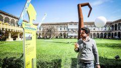 Alla Statale di Milano l'opera di Ron Arad