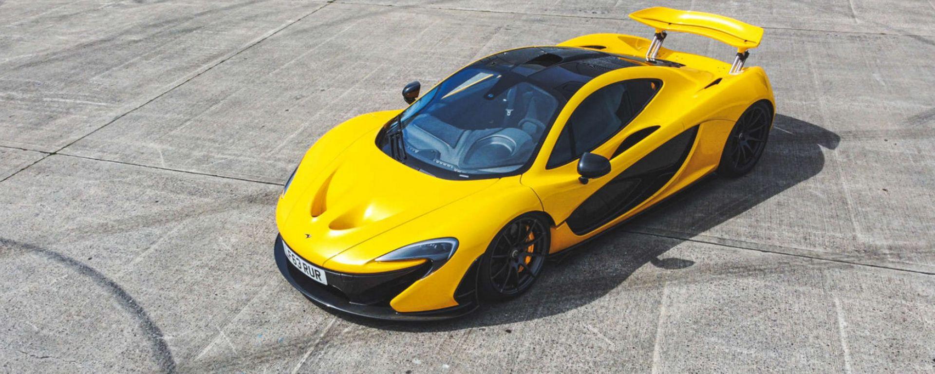 All'asta la prima McLaren P1 uscita dagli stabilimenti di Woking