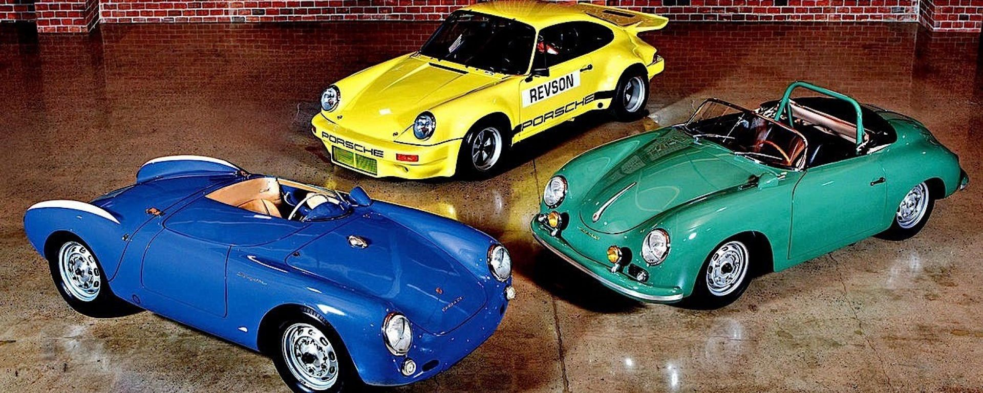 All'asta tre Porsche d'epoca del comico Jerry Seinfeld