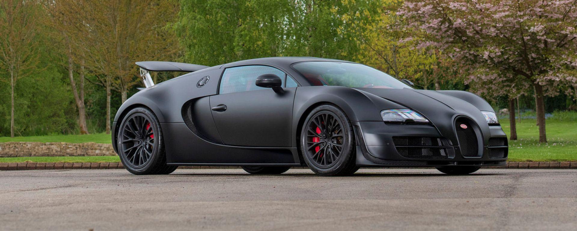 All'asta l'ultima Bugatti Veyron Super Sport