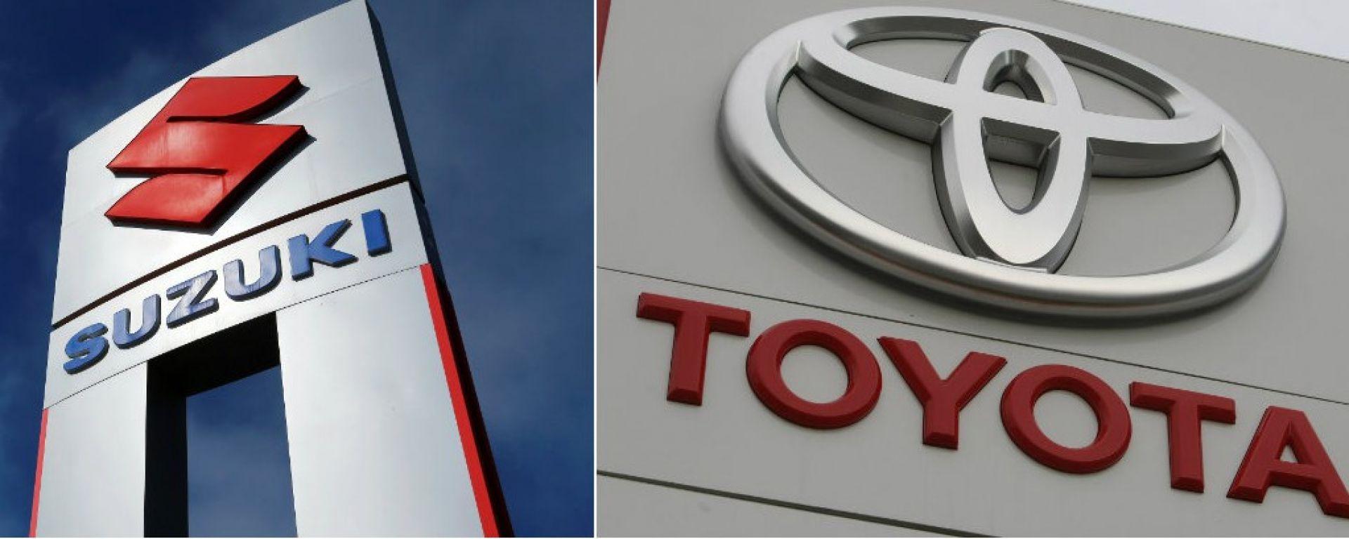 Toyota e Suzuki: sancita un'alleanza verso la guida autonoma