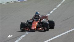 Alonso costretto al ritiro nel GP di Russia 2017