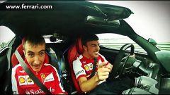 Alonso testa LaFerrari... piano piano - Immagine: 1