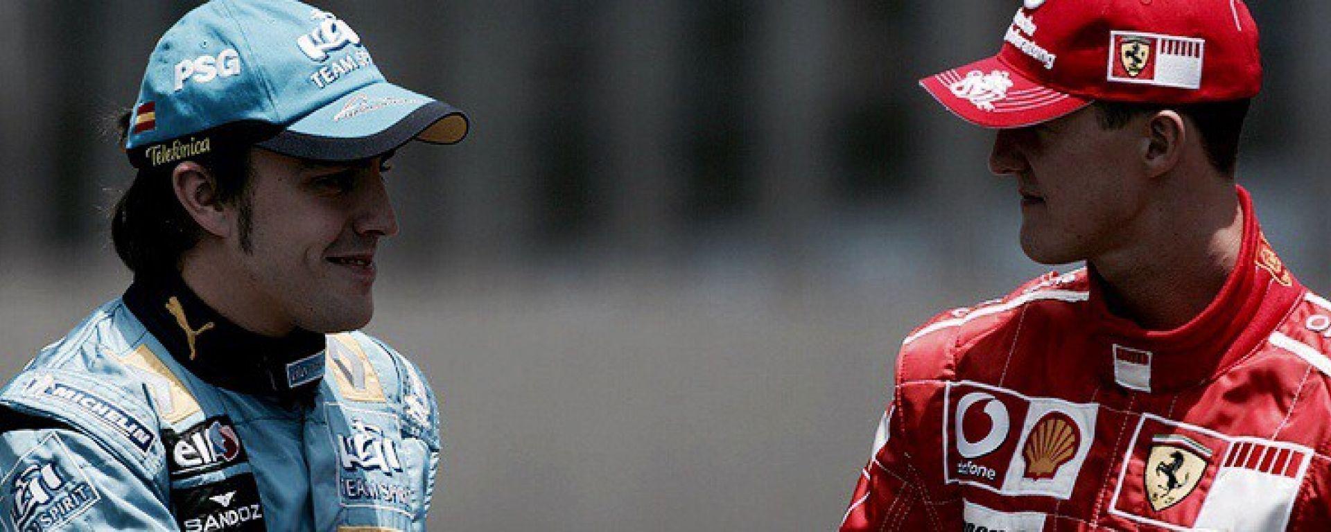 Alonso VS Schumacher - La sfida del 2006
