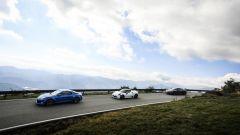 Alpine A110, Alfa Romeo 4C e Porsche 718 Cayman