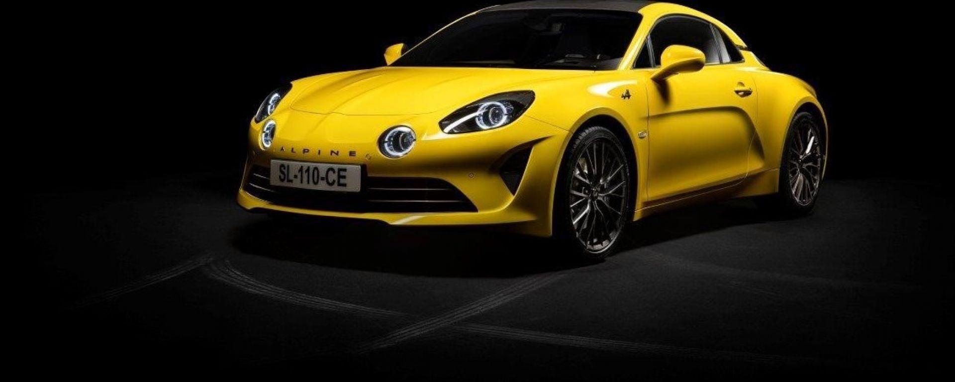 Alpine A110 Color Edition: 3/4 anteriore
