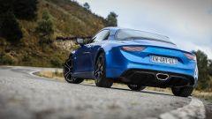 Alpine A110 Premiere edition: vista 3/4 posteriore