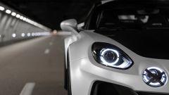 Alpine A110 SportsX, il dettaglio dei fanali