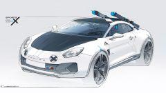 Alpine A110 SportsX, il progetto