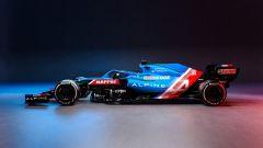 Alpine F1 Team 2021, la A521 di Fernando Alonso ed Esteban Ocon