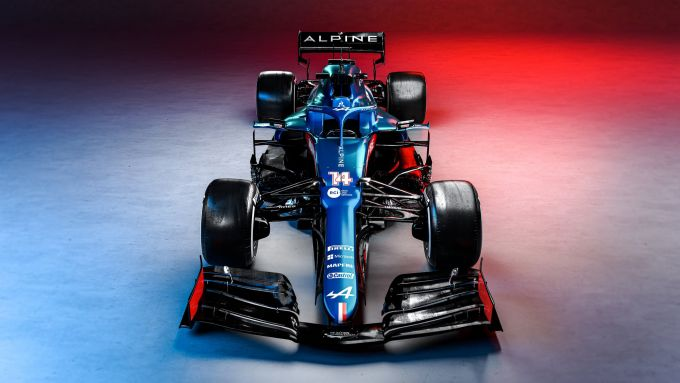 Alpine F1 Team 2021