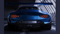 Alpine GTA by Arseny Kostromin: il retro