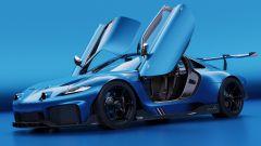 Alpine GTA by Arseny Kostromin: porte aperte