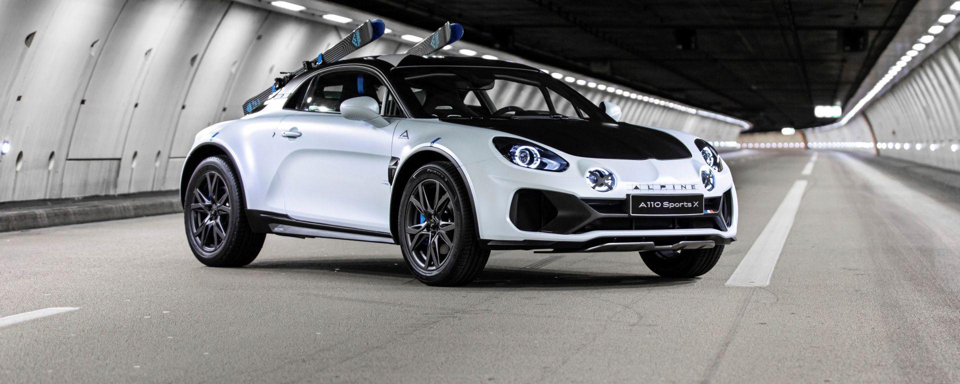 Alpine presenta A110 SportsX, un modello unico