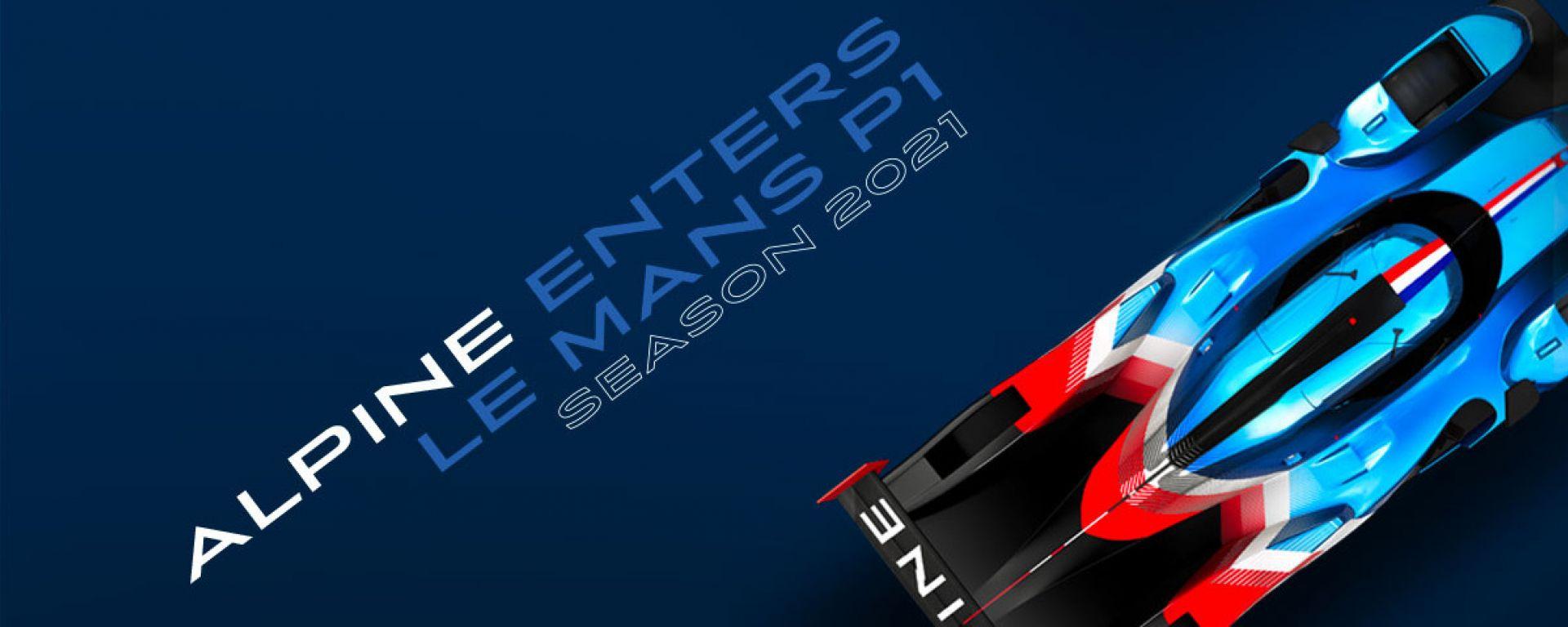 Alpine, ufficiale l'esordio nella classe LMP1 del Wec 2021