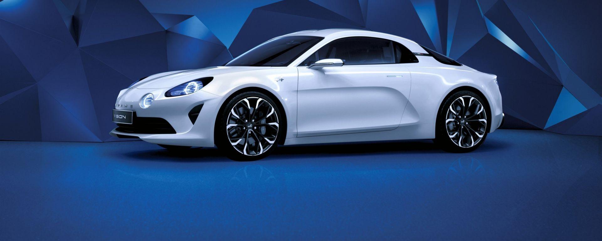 Alpine Vision: la concept presentata a inizio anno mostra anticipa lo stile della nuova sportiva francese