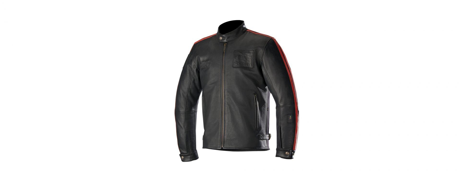 Alpinestars 2018:giacca in pelle Charlie