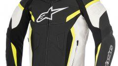 Alpinestars GP Plus R V2, nero-bianco-giallo