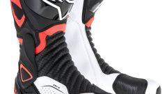 Alpinestars SMX6 V2, nero-bianco-rosso