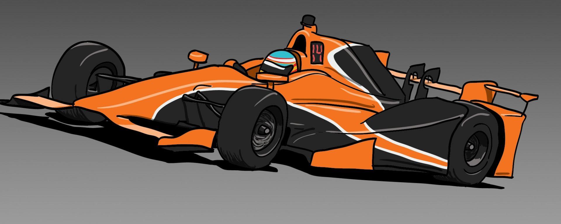 Altri test per Alonso in Indycar con la monoposto di Andretti