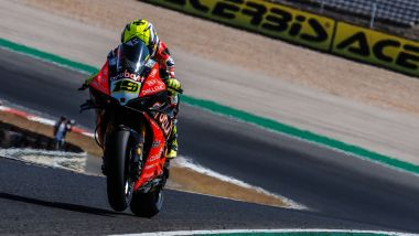 Alvaro Bautista a Portimao sulla sua Ducati