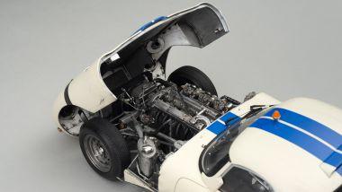 Amalgam Jaguar E-Type LWE del 1963: il motore