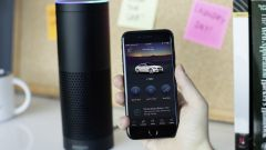 Amazon Alexa collegata all'app Mercedes Me