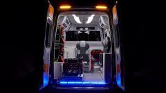 Ambulanza Mercedes Olmedo Sprinter 314: l'abitacolo a pressione negativa