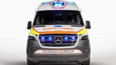 Ambulanza Mercedes Olmedo Sprinter 314: visuale frontale